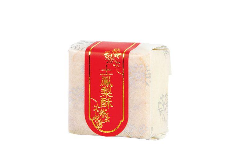 白棉袋+貼紙-土鳳梨酥