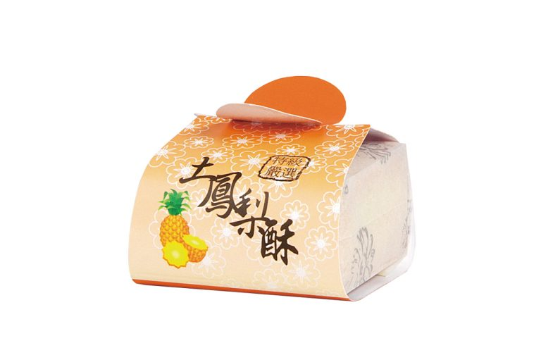 白棉袋+封套-土鳳梨酥
