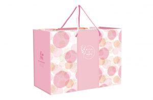粉紅圈圈紙袋