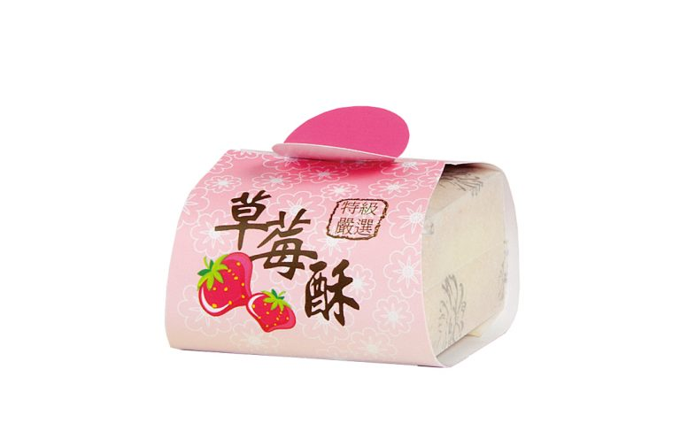 白棉袋+封套-草莓酥