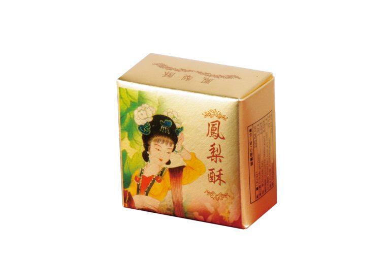 鳳梨酥盒形-梅花型
