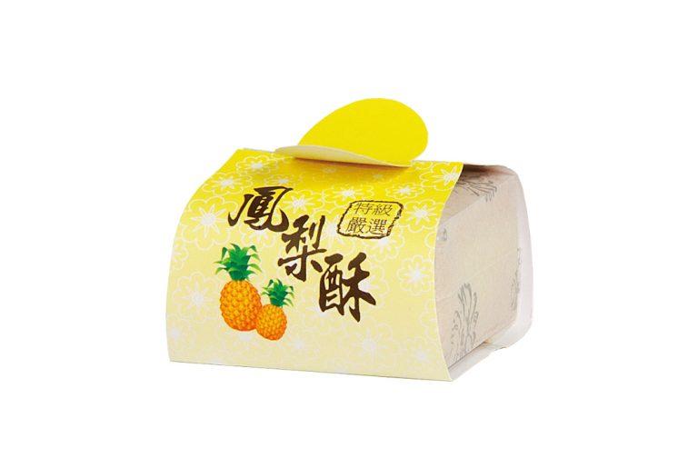 白棉袋+封套-鳳梨酥