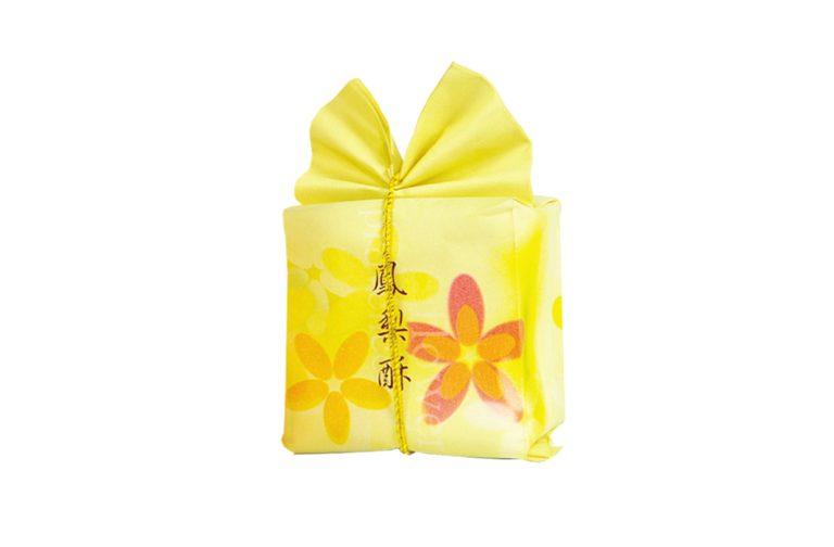 J001-花憶鳳梨酥棉袋+金線