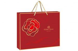 玫瑰金紙袋