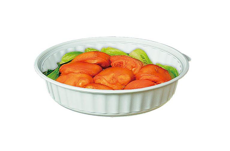 8吋波浪厚菜盤