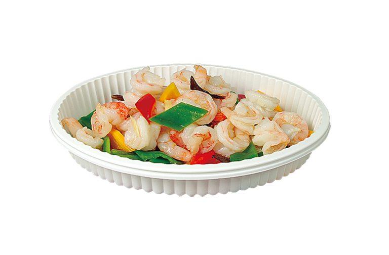 橢圓波浪菜盤