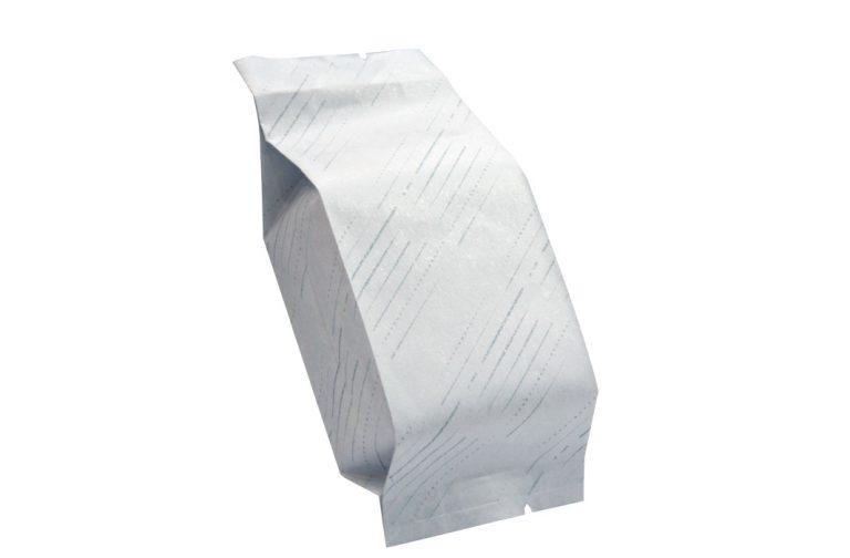 斜紋45克白棉袋鋁箔