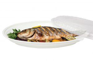 14吋魚盤【厚】盤